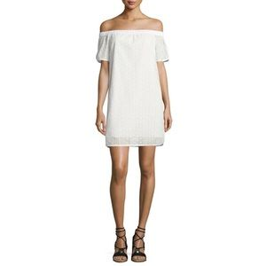 NWT Rag & Bone White Off The Shoulder Dress Size S
